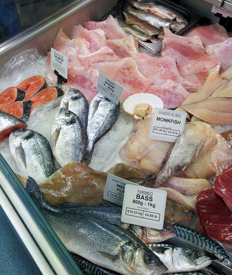 Eastbourne fish shop jan2016