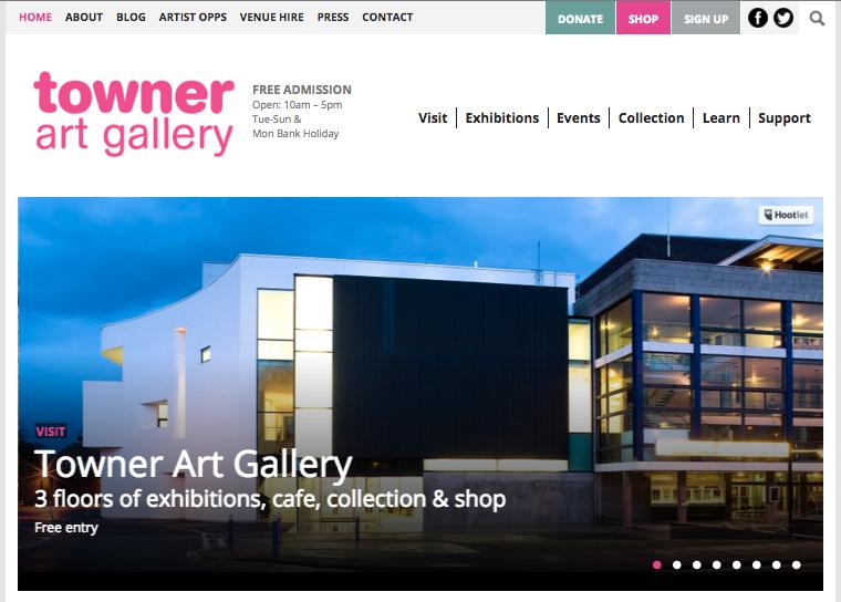 towner gallery screenshot