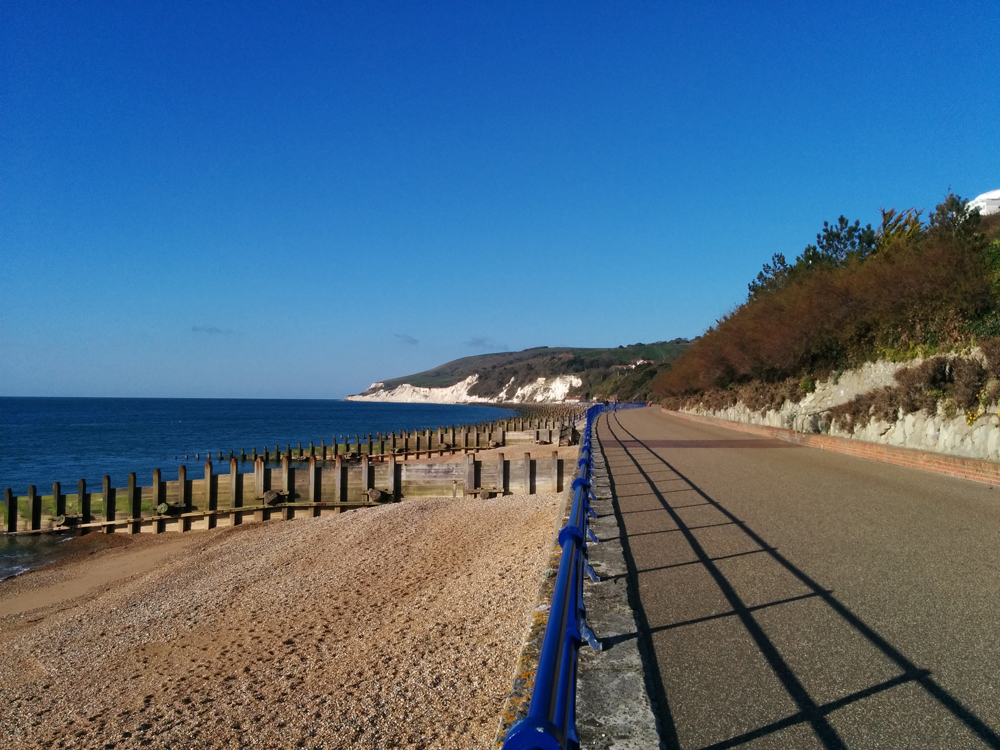 Eastbourne seafront, morning run