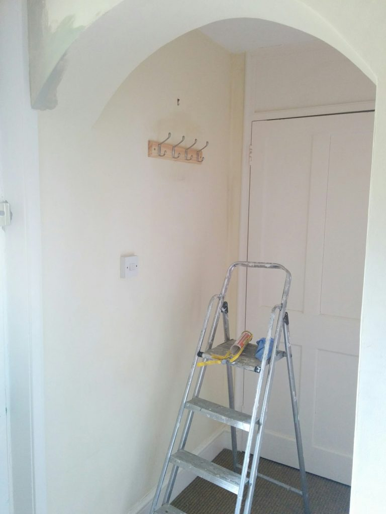 painting the back hall 3