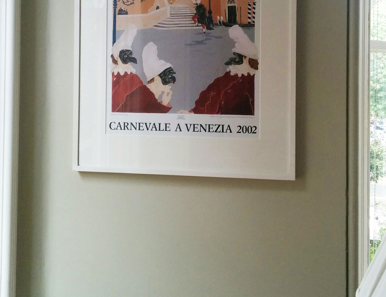 carnevale poster, bone wall
