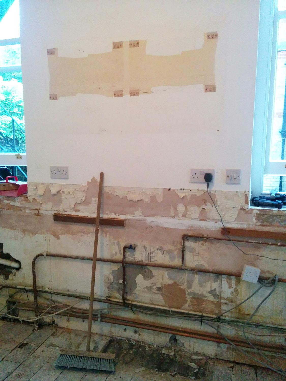 Kitchen strip out