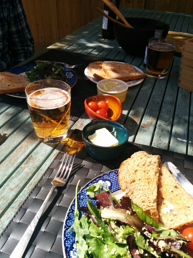 Lunch alfresco