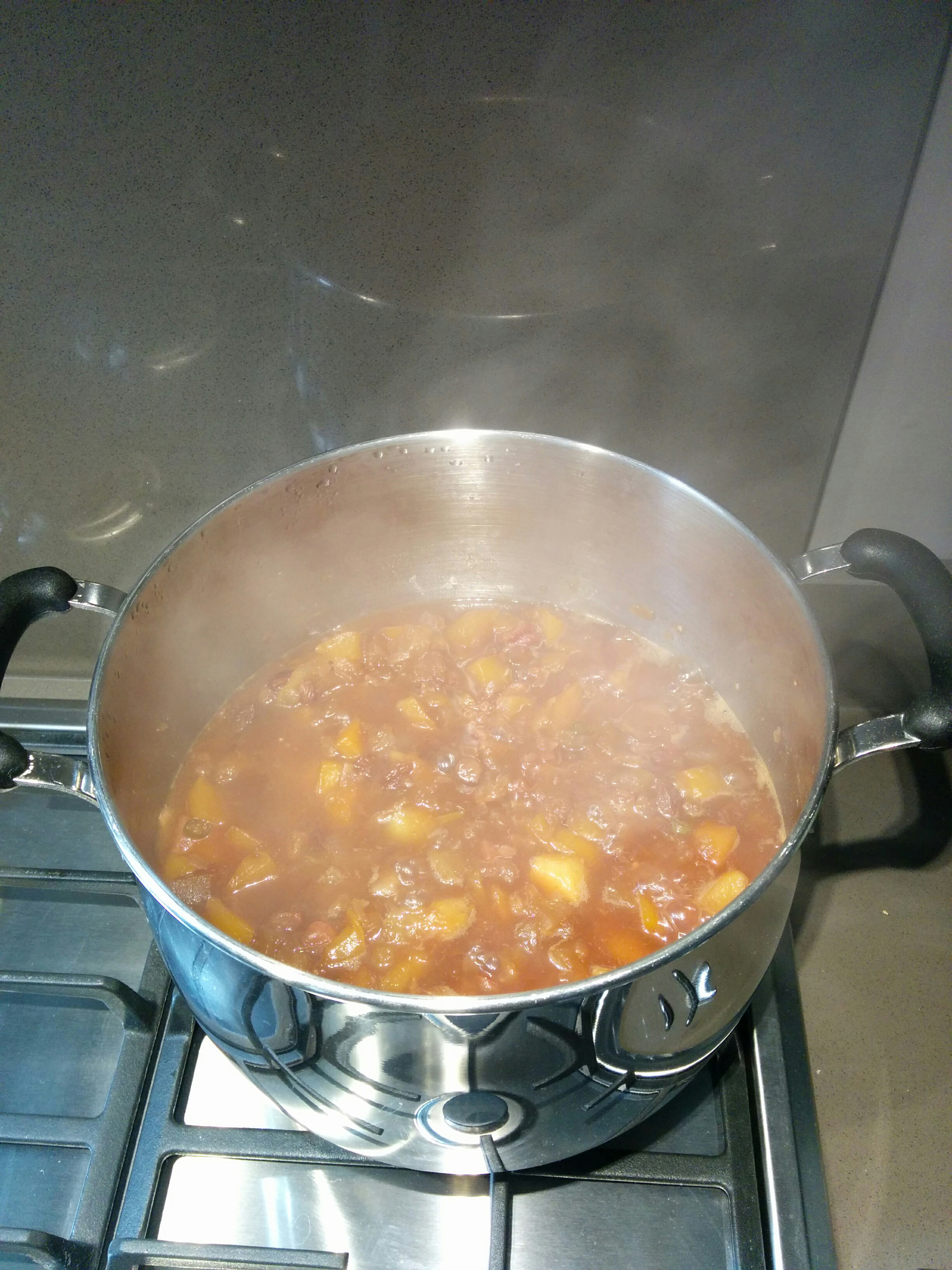 On the simmer