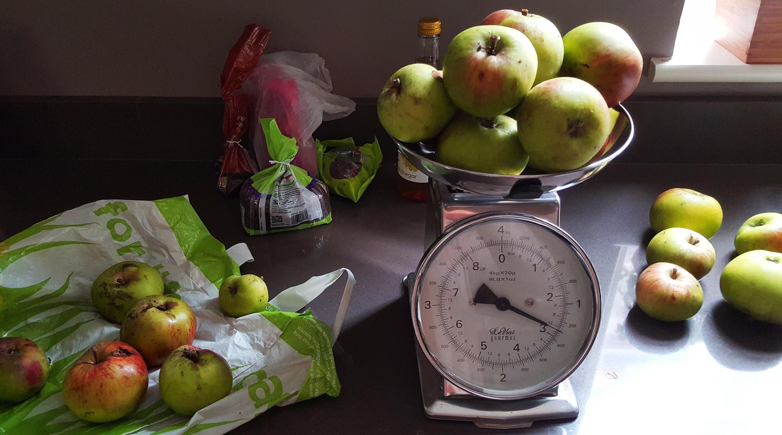 apples for chutney