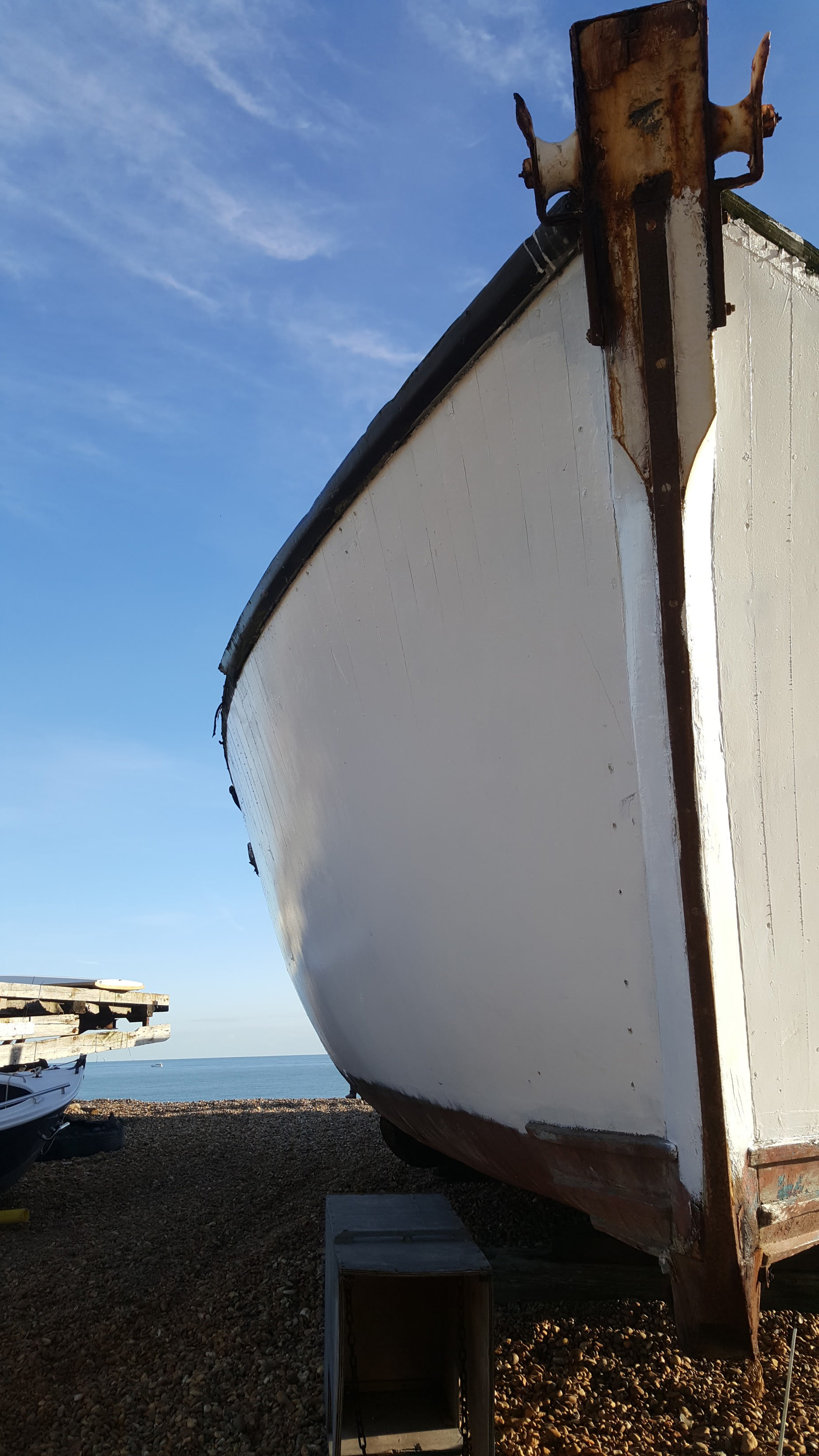 Close up of a boat | An Eastbourne Diary