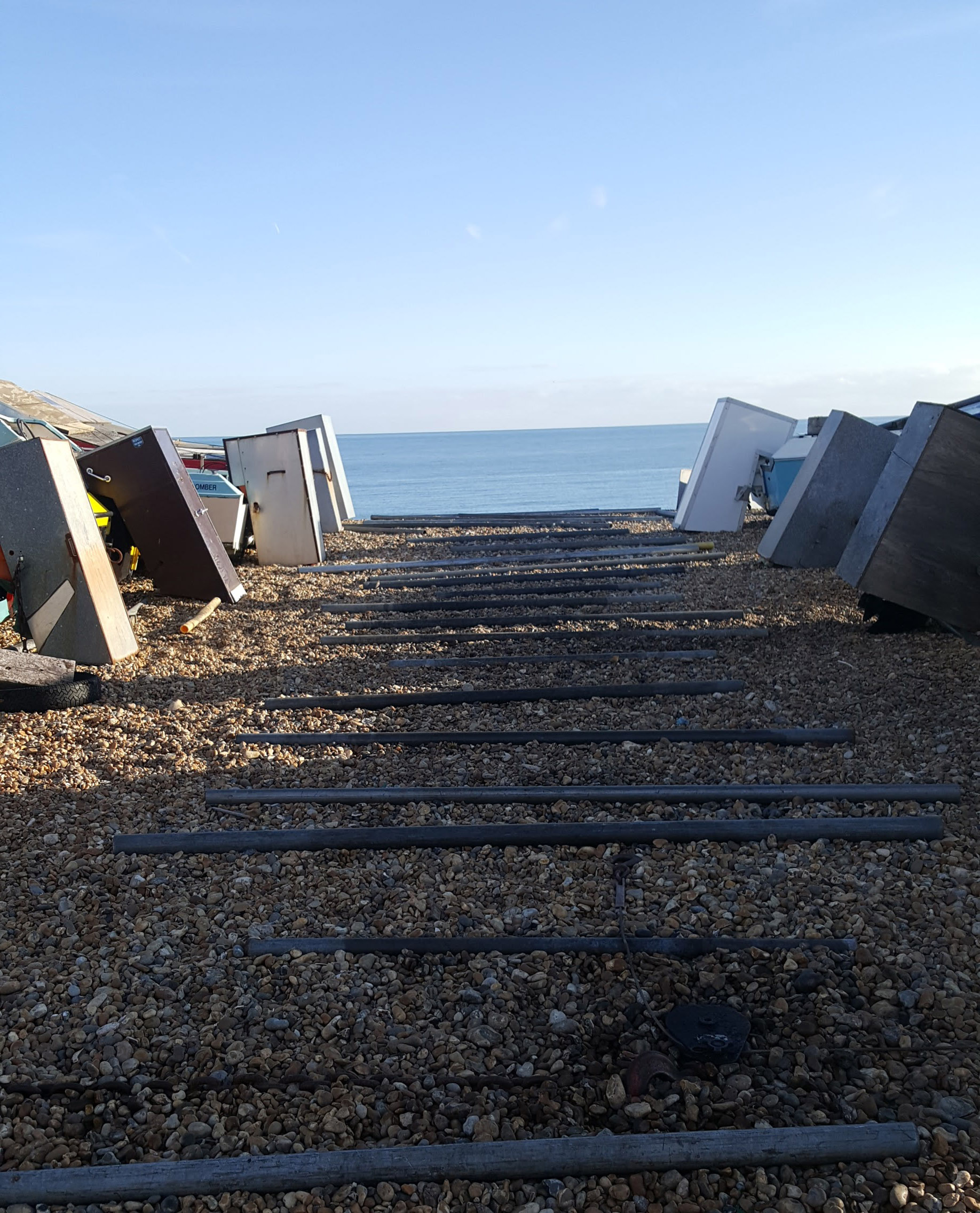 Slipway on the beach | An Eastbourne Diary