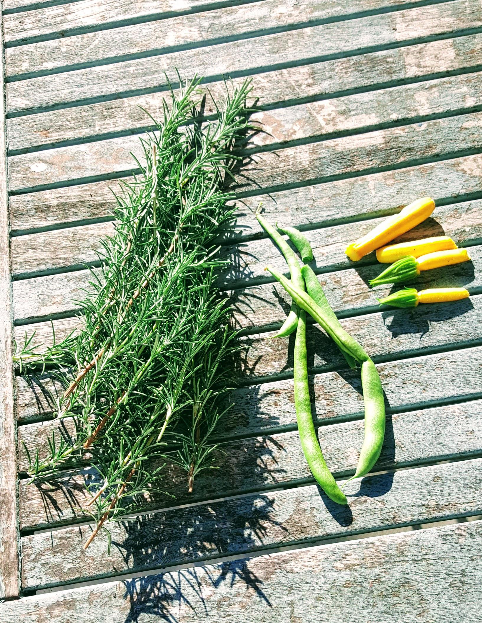 The last garden produce of 2018