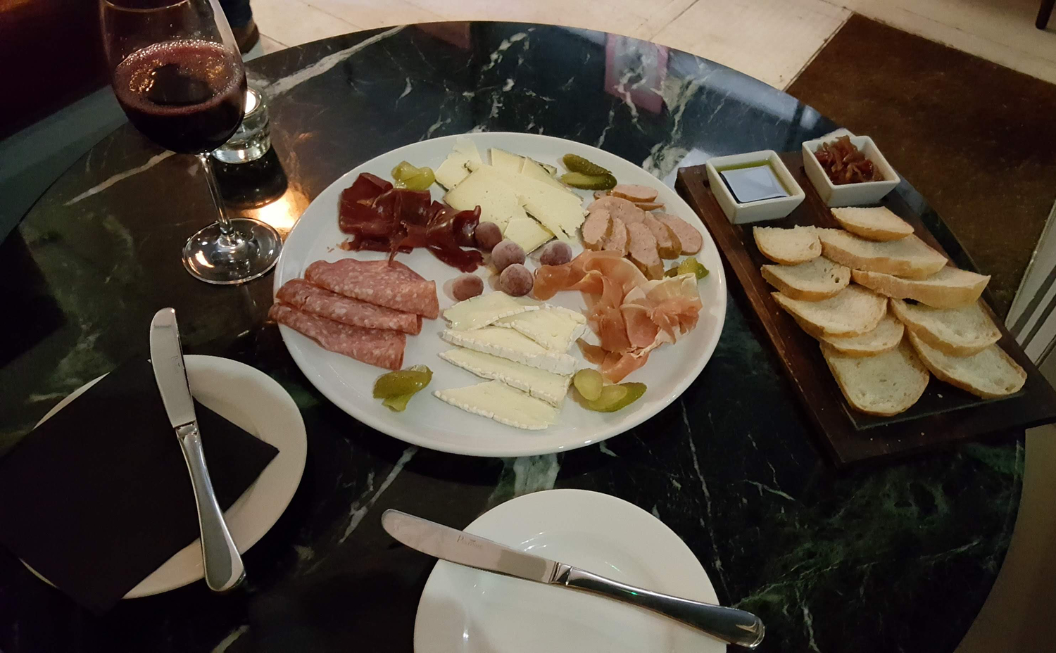 Cheese & Meat Platter, Levels Bottle Shop, eastbourne