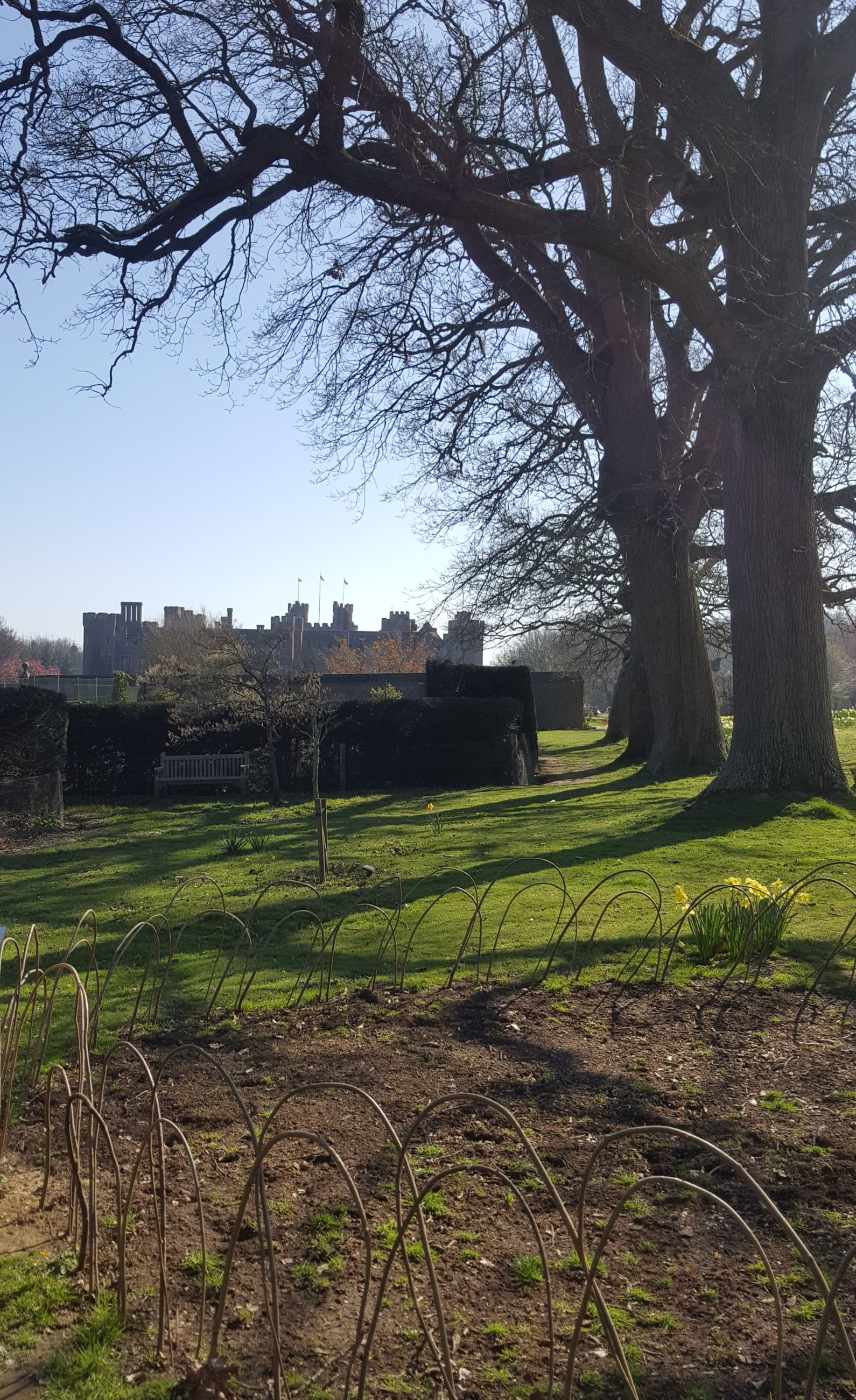 Herstmonceux Castle from the gardens