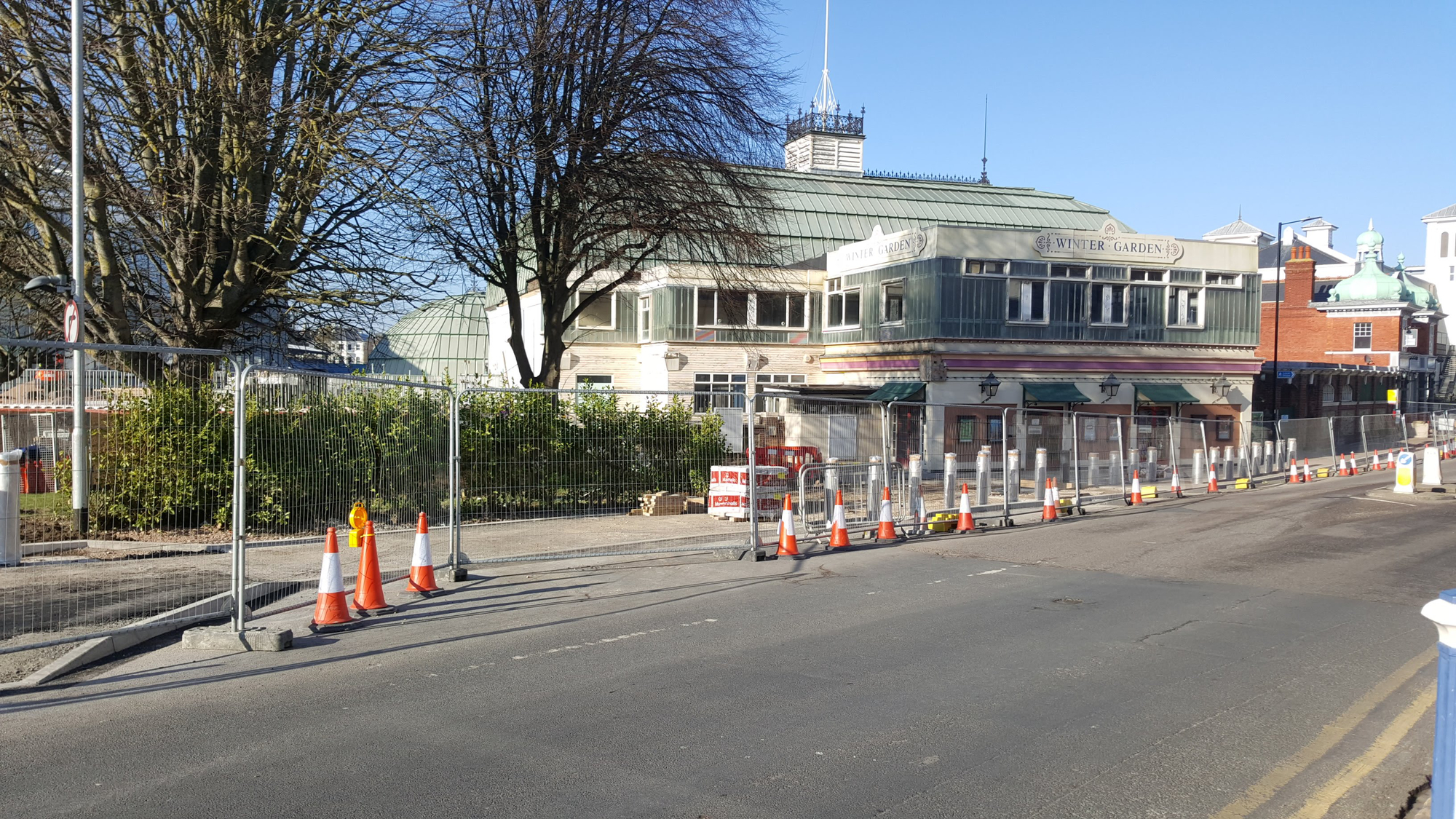 Eastbourne Winter Gardens March 2019