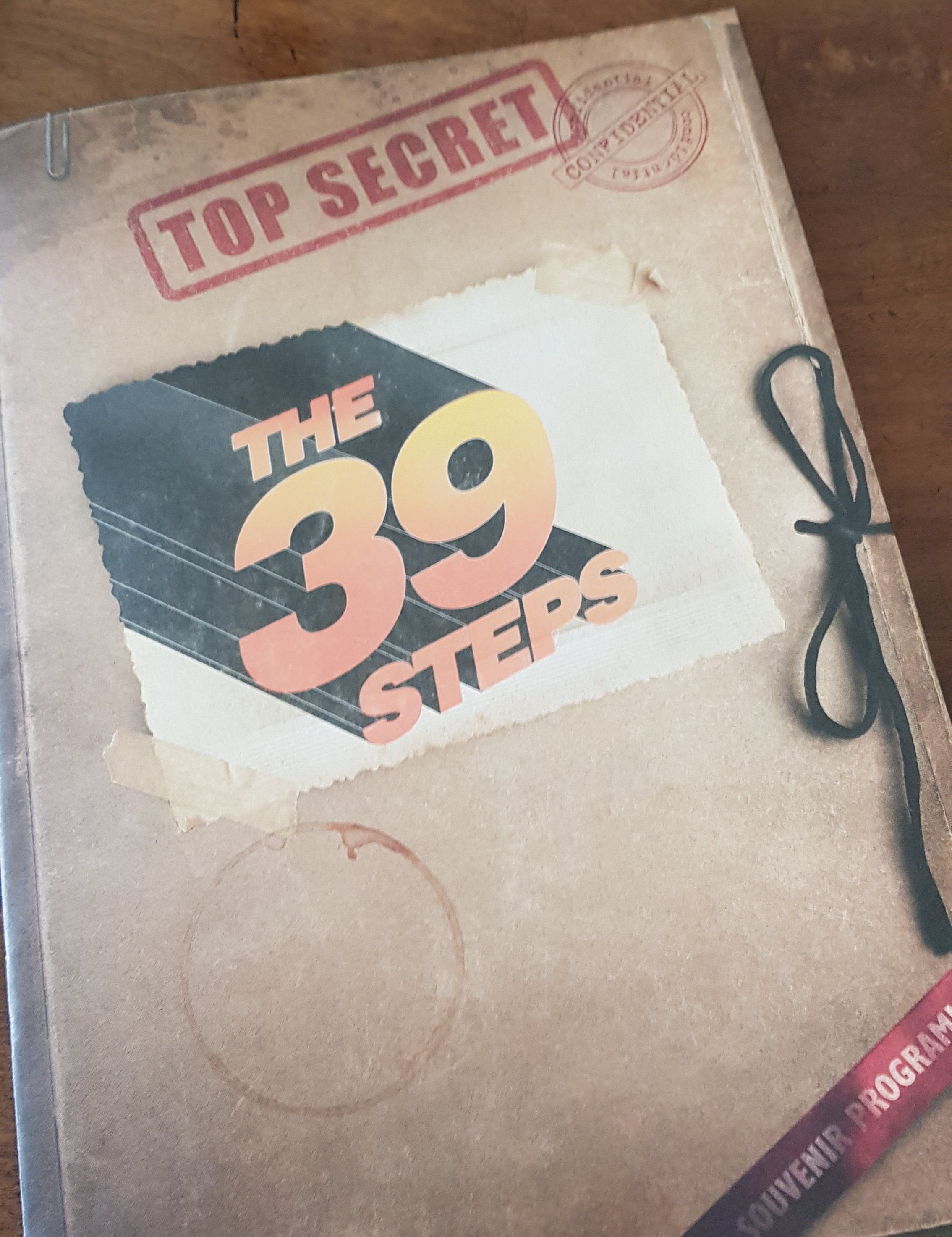 The 39 Steps production at Eastbourne Theatres