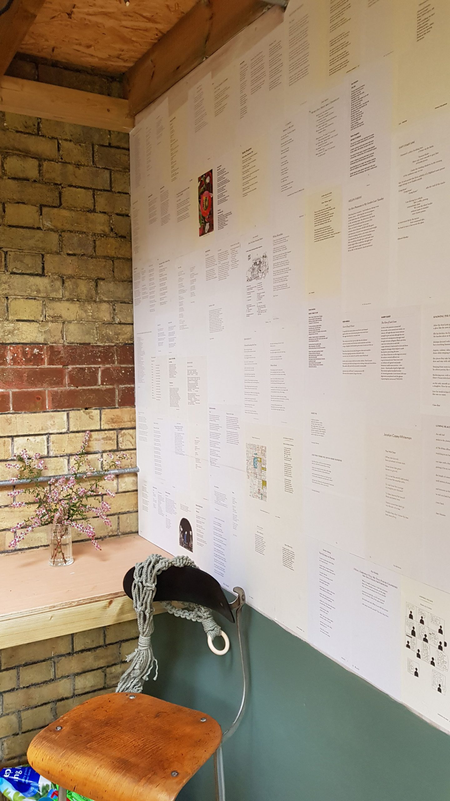 poetry wall