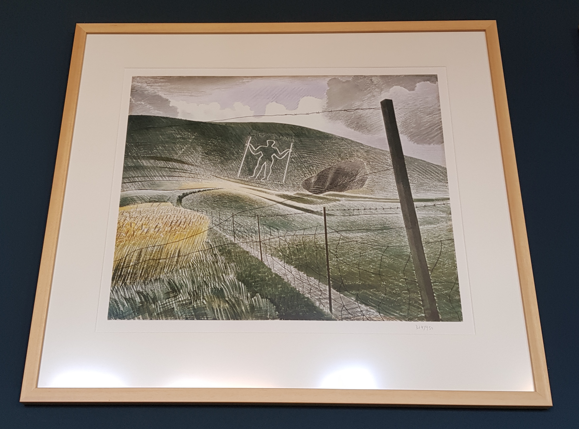 Ravilious Long Man of Wilmington